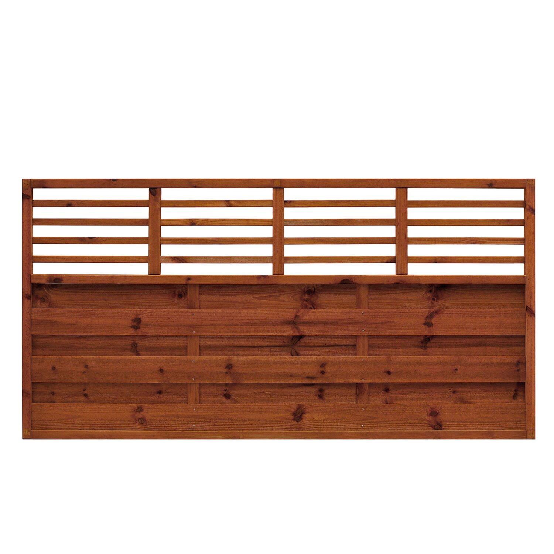sichtschutzzaun element bern kdi braun 90 cm x 180 cm kaufen bei obi. Black Bedroom Furniture Sets. Home Design Ideas