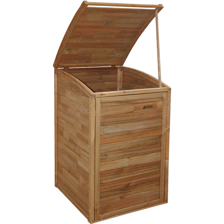 andrewex mülltonnenbox 130/117 cm x 75 cm x 90 cm kdi braun kaufen
