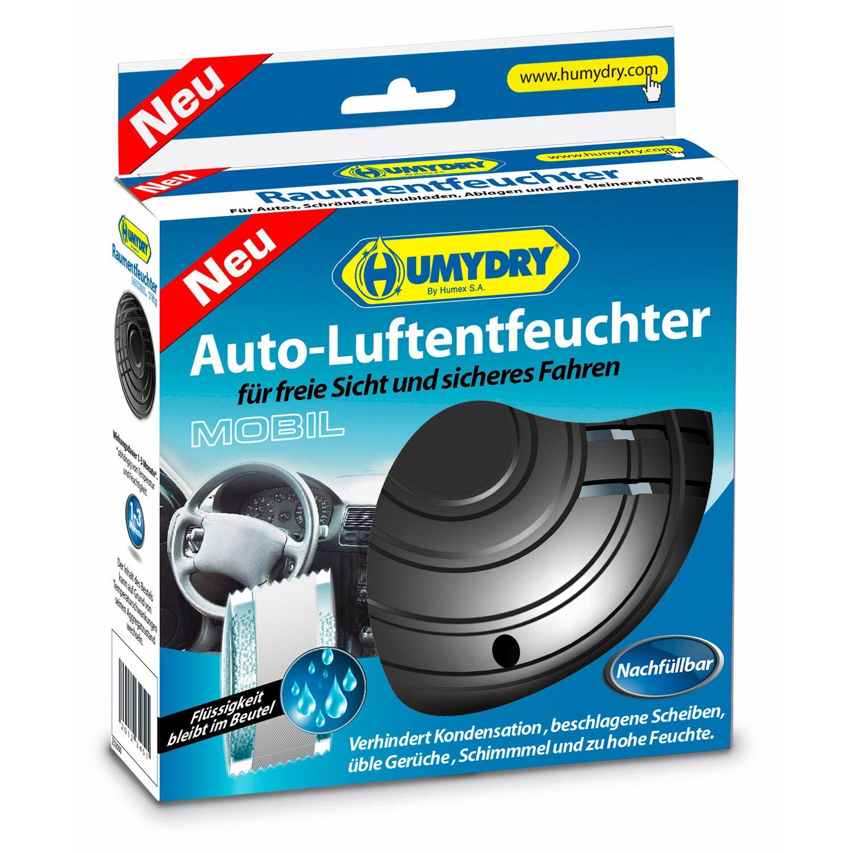 Humydry Mobil Auto-Luftentfeuchter Geruchsneutr...