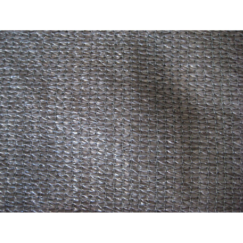 Solid Sichtschutzblende Anthrazit Grobe Struktur aus HDPE 80 cm x