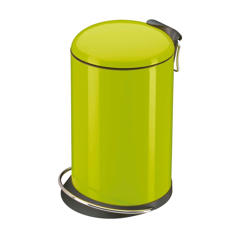 Hailo Tret-Mülleimer Trento Topdesign 16 l Lemon