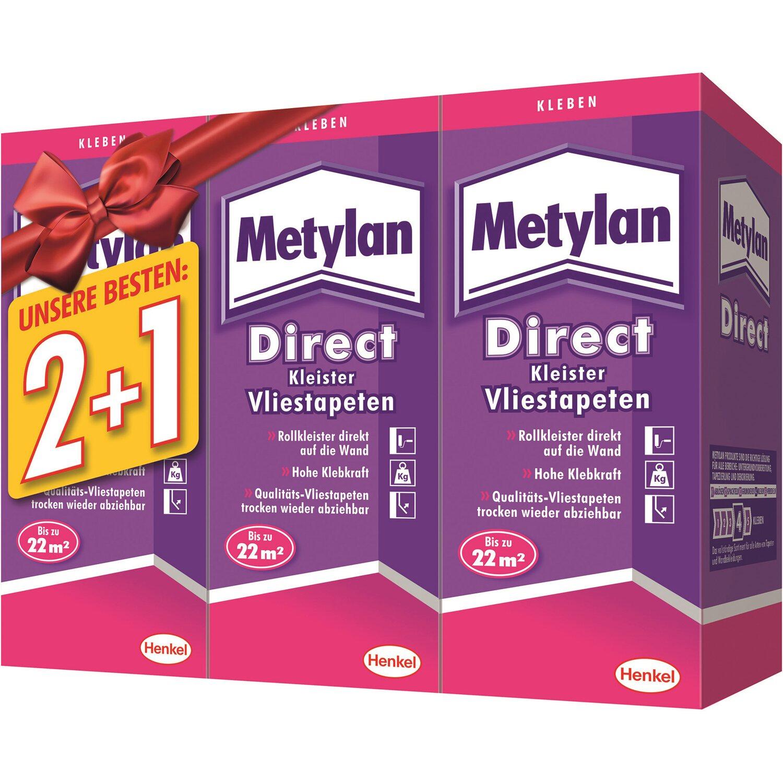 metylan direct rollkleister 3 x 200 g kaufen bei obi