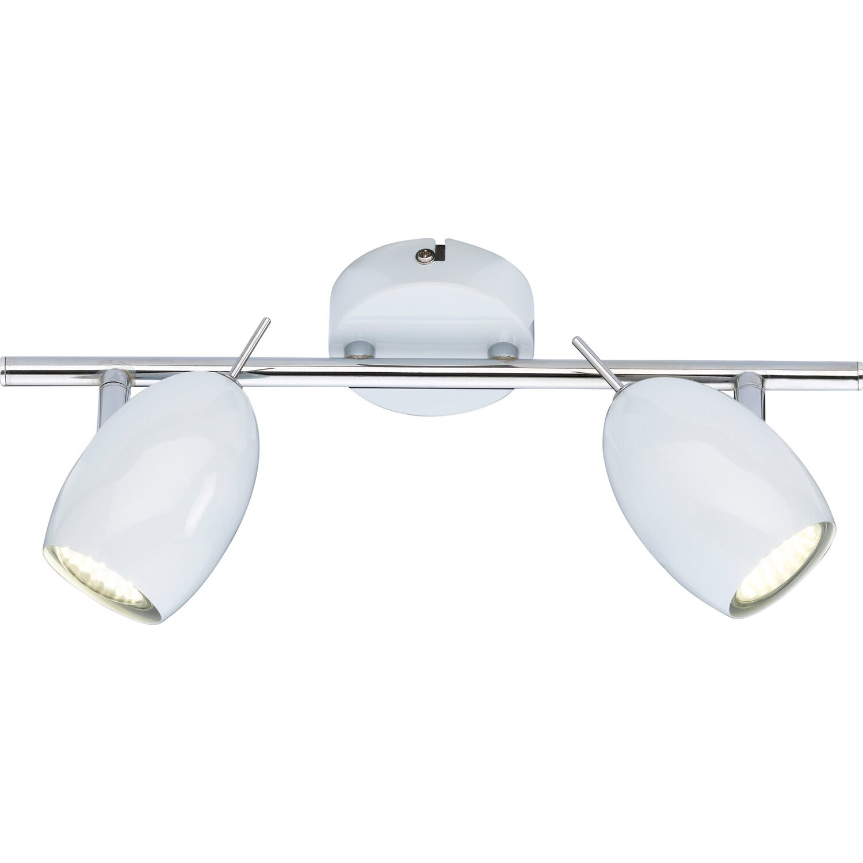 Wofi LED-Spot 2er EEK: A++ Quincy Weiß
