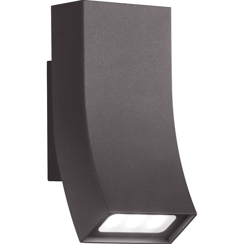 Trio LED-Außenwandleuchte EEK: A-A++ Oka Anthrazit
