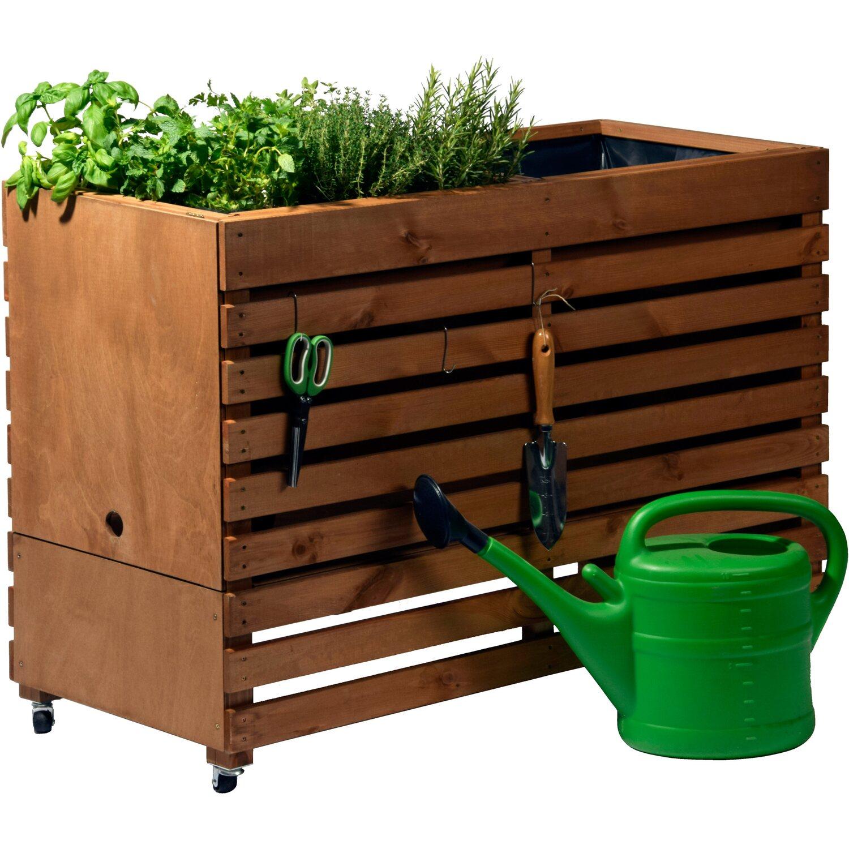 dobar hochbeet rolling garden gr xl kaufen bei obi. Black Bedroom Furniture Sets. Home Design Ideas