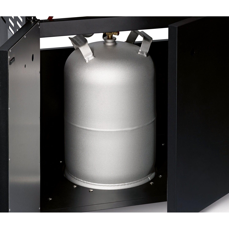 enders gasgrill kansas black 3 k turbo mit 3 brennern und seitenkocher kaufen bei obi. Black Bedroom Furniture Sets. Home Design Ideas