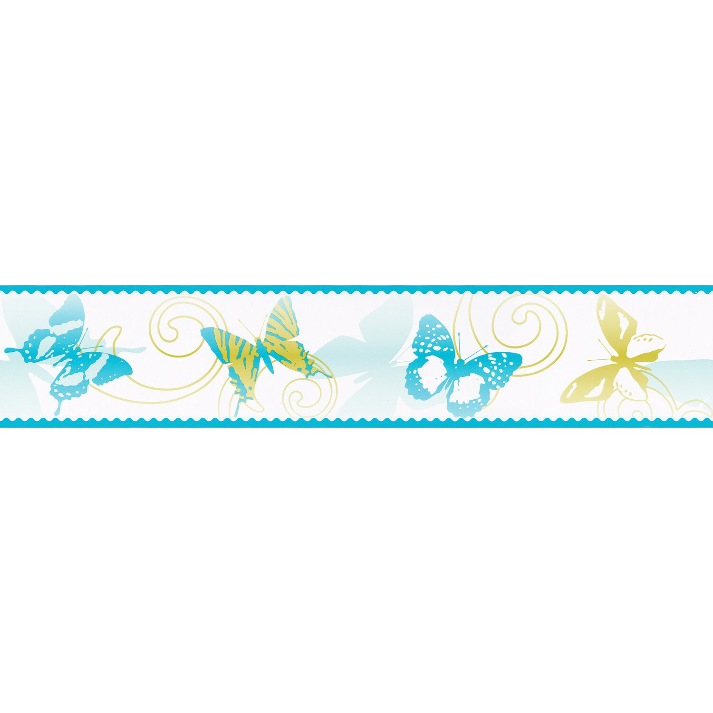 AS Creation A.S. Creation Borte Schmetterlinge Blau