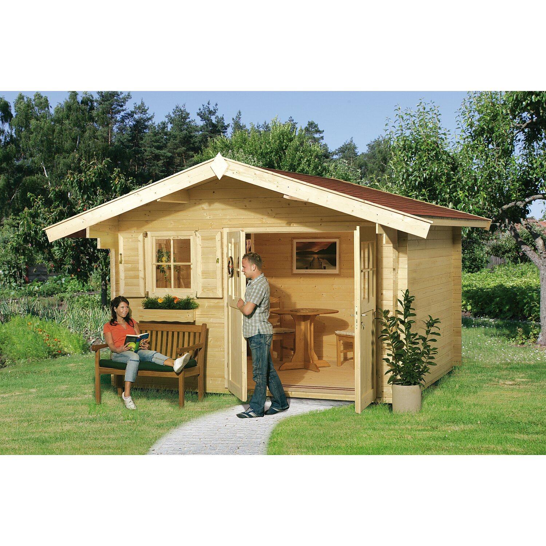weka holz gartenhaus sienna b 300 cm x 250 cm kaufen bei obi. Black Bedroom Furniture Sets. Home Design Ideas