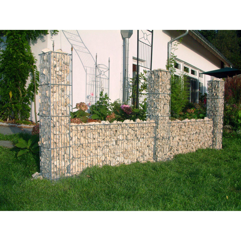 gabionen mauergitter 40 cm f r steins ulen kaufen bei obi. Black Bedroom Furniture Sets. Home Design Ideas