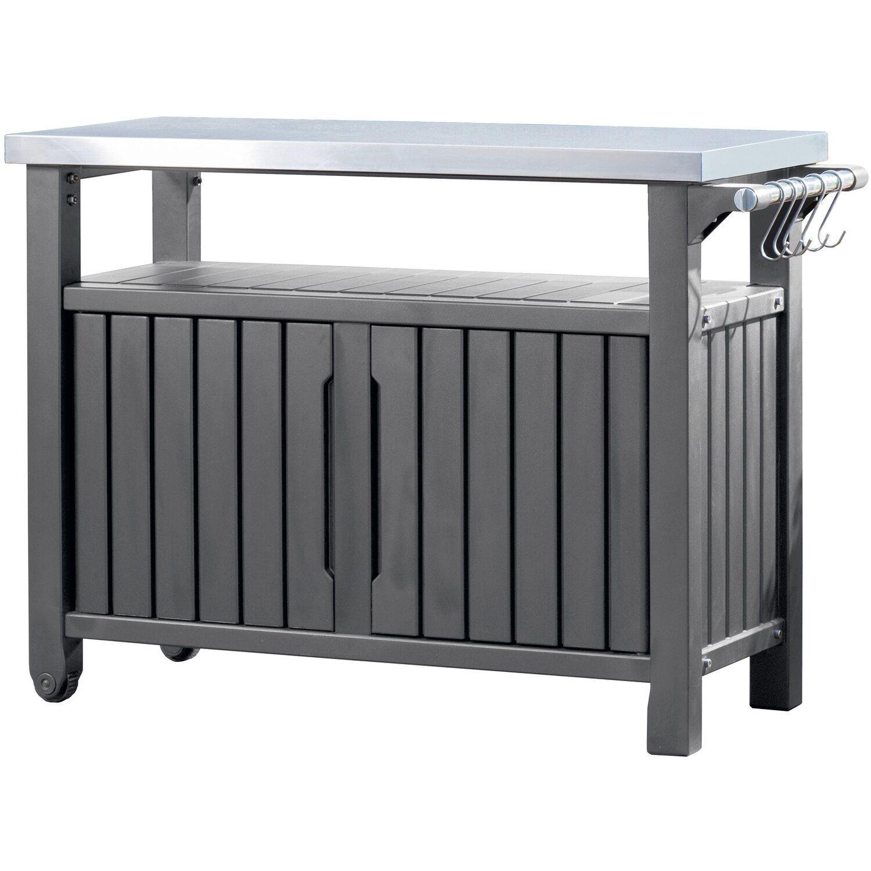 Tepro grill beistelltisch 118 4 cm x 56 4 cm kaufen bei obi for Beistelltisch lang