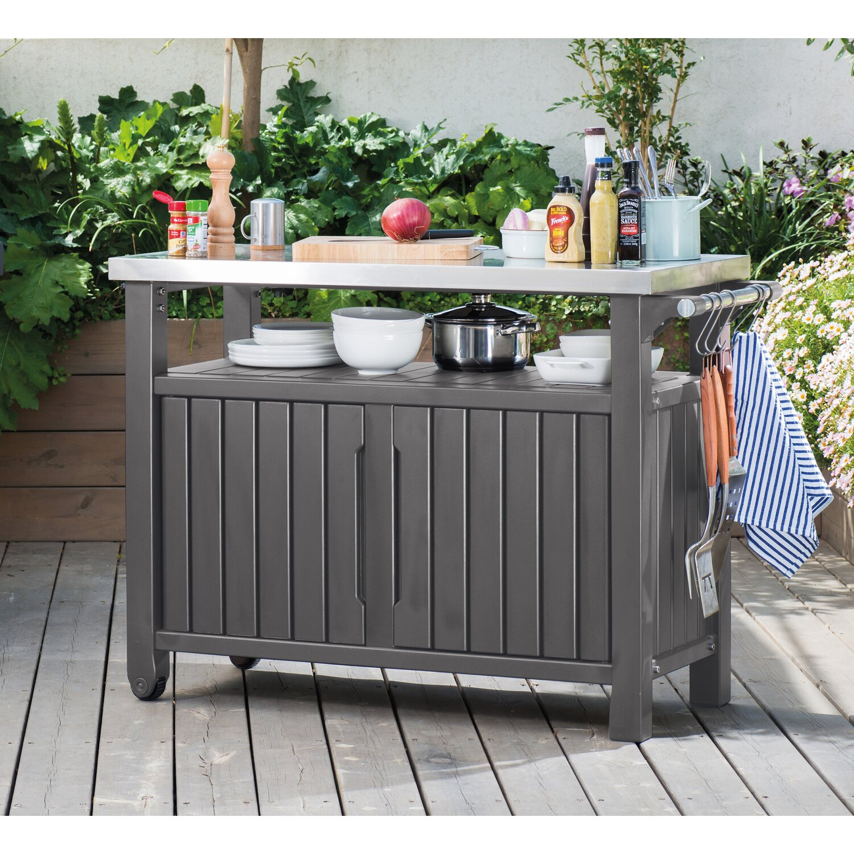 tepro grill beistelltisch 118 4 cm x 56 4 cm kaufen bei obi. Black Bedroom Furniture Sets. Home Design Ideas