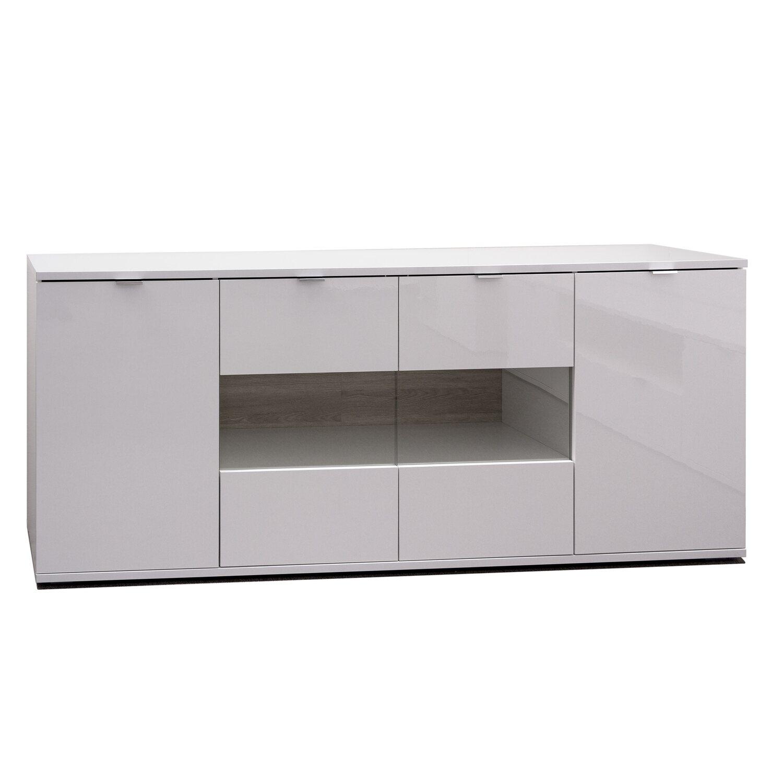 Wohnzimmer Komplett Set 3 Teilig In Brilliant Weiß