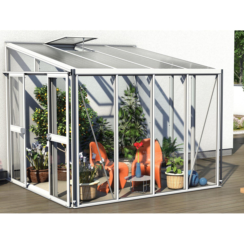 pavillon nachr stsatz gew chshaus helena 7000 wei kaufen bei obi. Black Bedroom Furniture Sets. Home Design Ideas