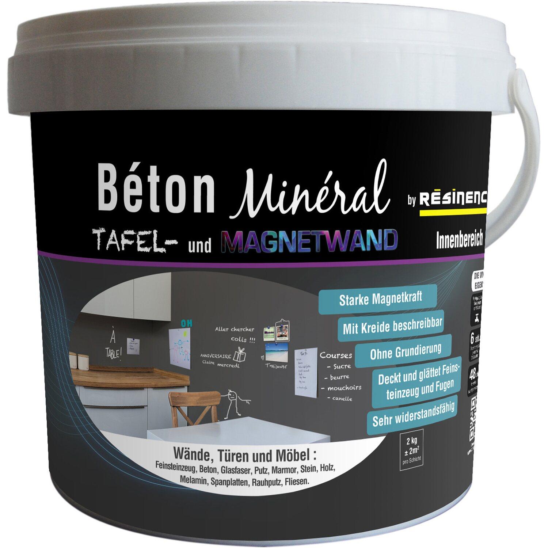 resinence beton mineral tafel magnetik 2 kg kaufen bei obi. Black Bedroom Furniture Sets. Home Design Ideas
