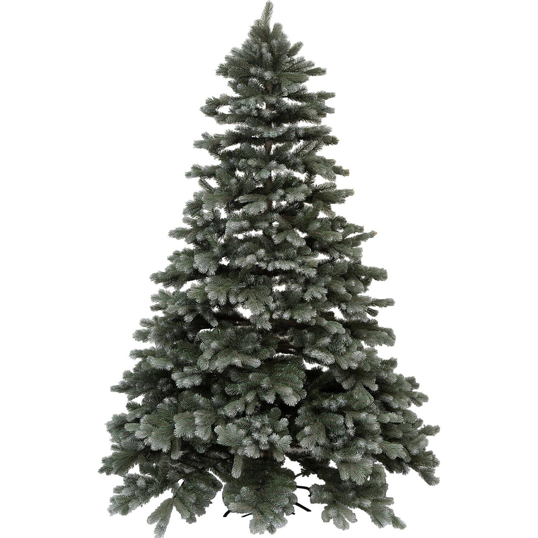 Künstlich Weihnachtsbaum.Takasho Künstlicher Weihnachtsbaum Blautanne Deluxe 121 Cm Gefrostet