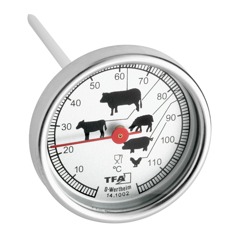 TFA Bratenthermometer Edelstahl