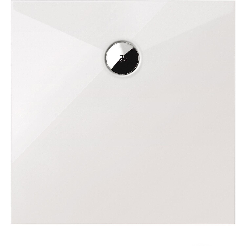 Schulte Duschwanne Quadrat Schulte-plan Alpinweiß 100 cm x 100 cm