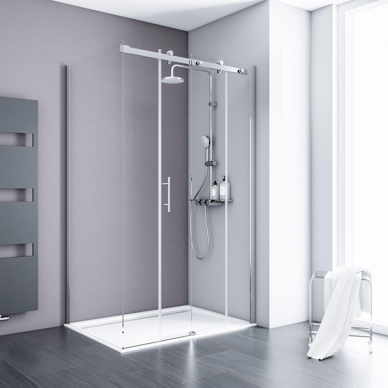 schulte gleitt r inkl seitenwand alexa style 2 0 120 cm x 90 cm x 200 cm kaufen bei obi. Black Bedroom Furniture Sets. Home Design Ideas