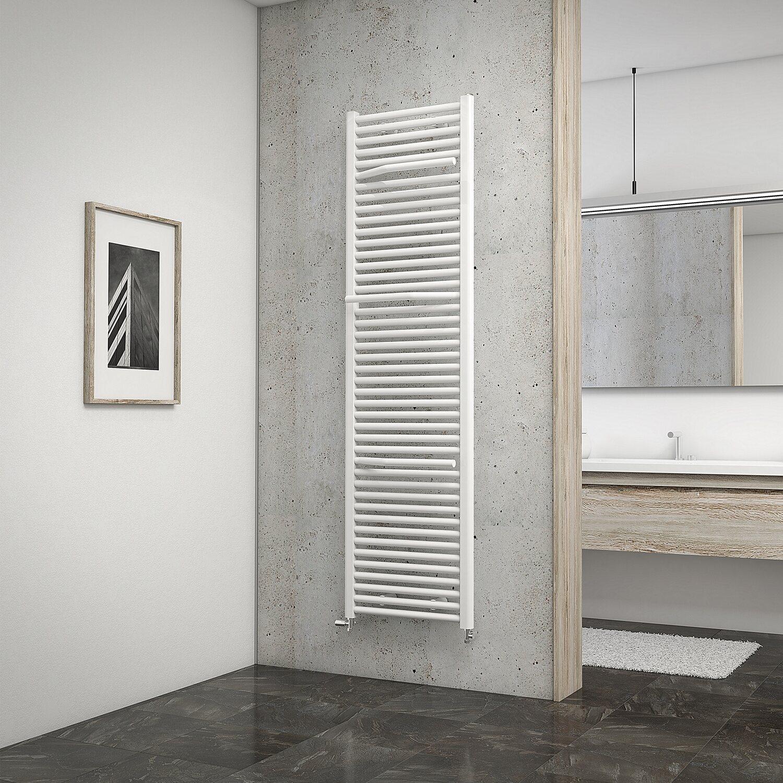 schulte design heizk rper miami mit anschluss von unten watt alpinwei kaufen bei obi. Black Bedroom Furniture Sets. Home Design Ideas