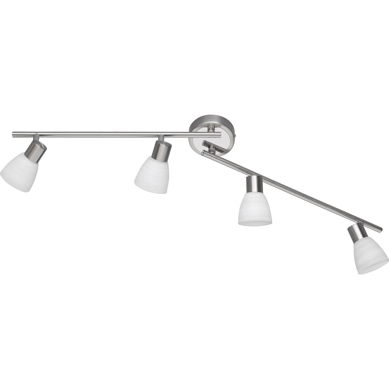 Trio LED-Spot 4er EEK: A+ Caprico Nickel matt dimmbar
