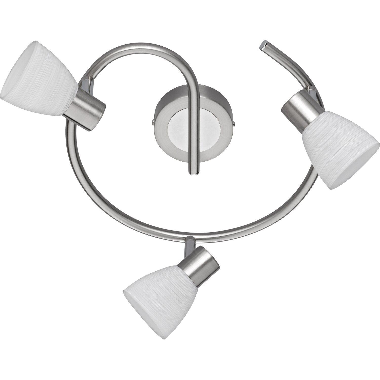 Trio LED-Spot 3er EEK: A+  Caprico Nickel matt dimmbar