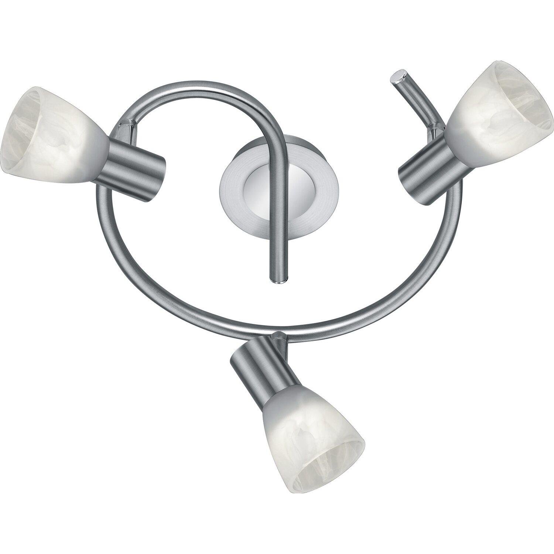 Trio LED-Deckenleuchte EEK: A+ Levisto Nickel matt