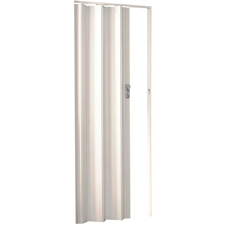 Sonstige Falttür Spacy Dekor Weiß glänzend 84 cm x 205 cm