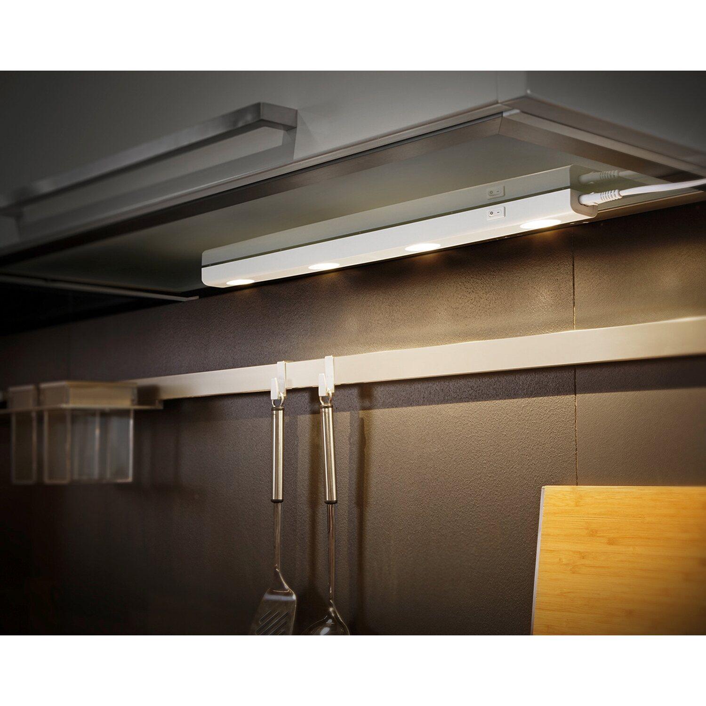 trio led unterbauleuchten wei 55 cm eek a a kaufen bei obi. Black Bedroom Furniture Sets. Home Design Ideas