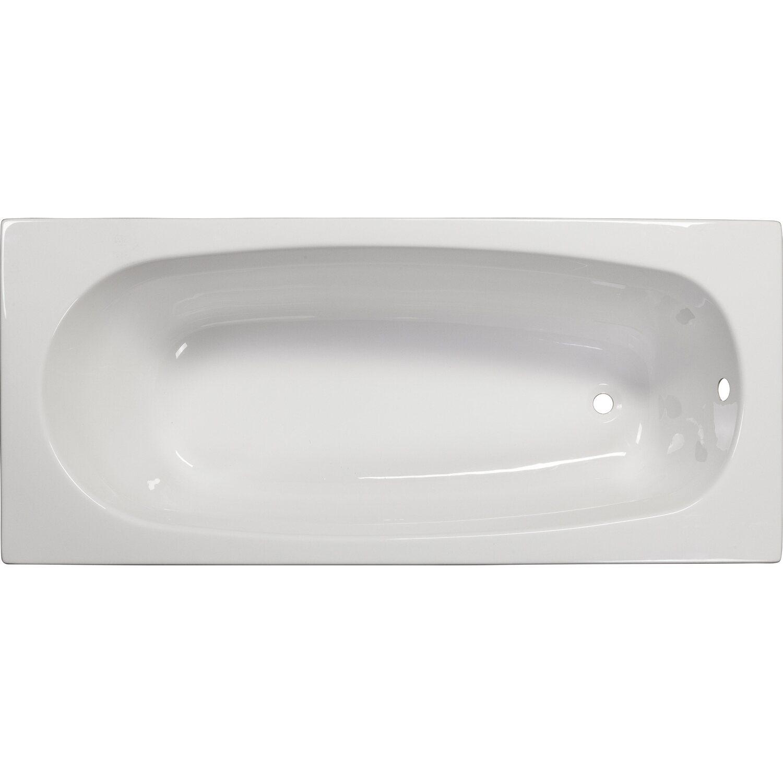 sanoacryl badewanne linea 160 cm x 70 cm wei kaufen bei obi. Black Bedroom Furniture Sets. Home Design Ideas