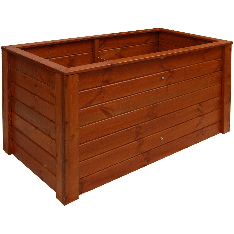 hochbeet 79 cm x 150 cm x 76 cm teakfarben kaufen bei obi. Black Bedroom Furniture Sets. Home Design Ideas