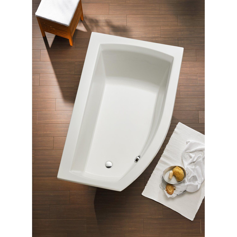 badewanne cedros 160 cm x 98 cm typ a kaufen bei obi. Black Bedroom Furniture Sets. Home Design Ideas
