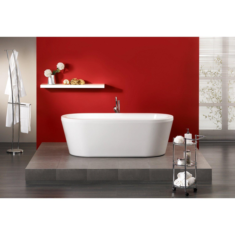 freistehende badewanne flora 179 5 cm x 80 cm wei kaufen. Black Bedroom Furniture Sets. Home Design Ideas