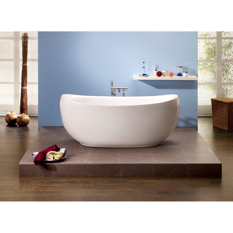 freistehende badewanne ventura 180 5 cm x 83 5 cm wei kaufen bei obi. Black Bedroom Furniture Sets. Home Design Ideas