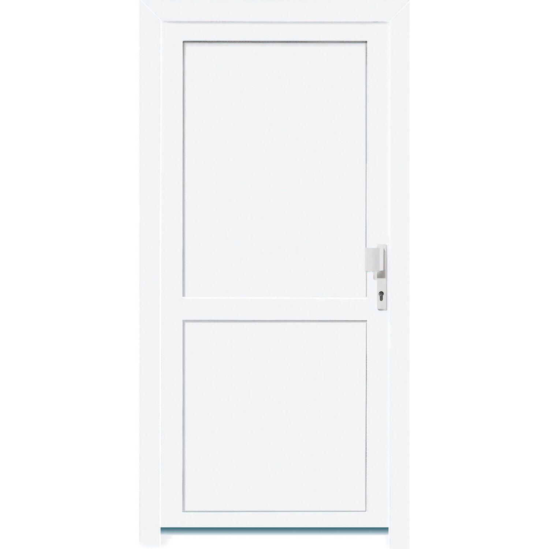 kunststoff nebeneingangst r 98 cm x 198 cm k503 anschlag rechts wei kaufen bei obi. Black Bedroom Furniture Sets. Home Design Ideas