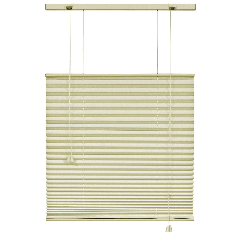 gardinia plissee 100 cm x 160 cm elfenbein kaufen bei obi. Black Bedroom Furniture Sets. Home Design Ideas