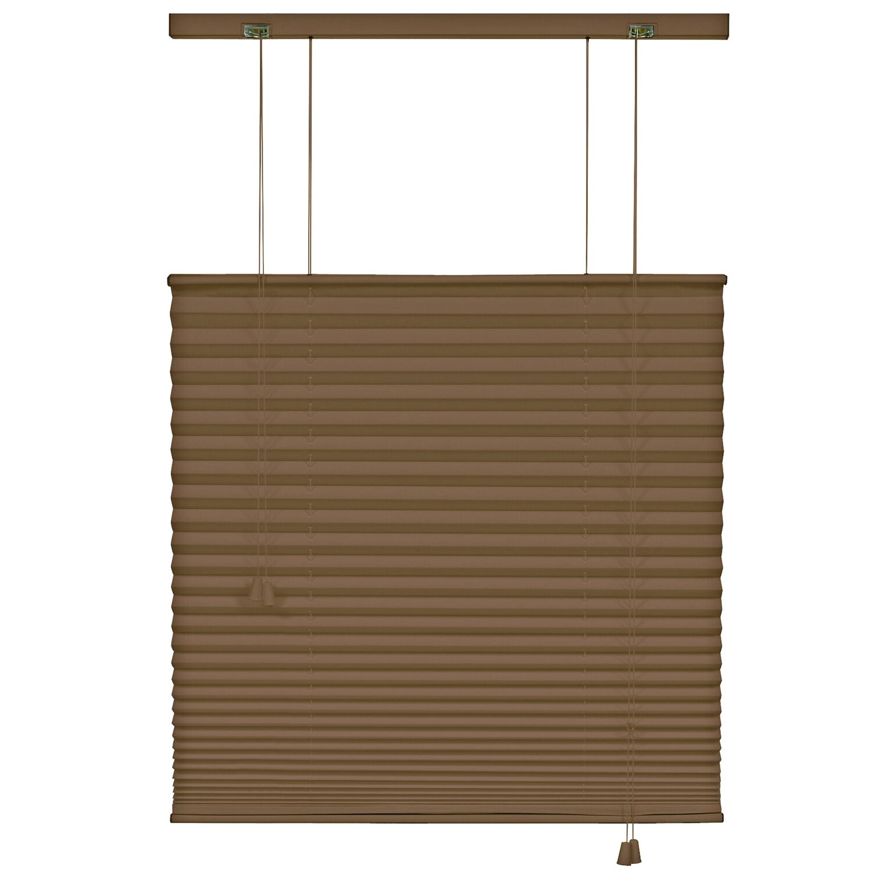 gardinia plissee 120 cm x 160 cm mocca kaufen bei obi. Black Bedroom Furniture Sets. Home Design Ideas