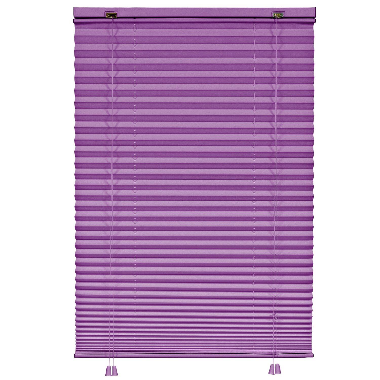 gardinia plissee 80 cm x 160 cm violett kaufen bei obi. Black Bedroom Furniture Sets. Home Design Ideas