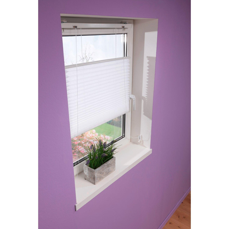 gardinia plissee 120 cm x 160 cm wei kaufen bei obi. Black Bedroom Furniture Sets. Home Design Ideas