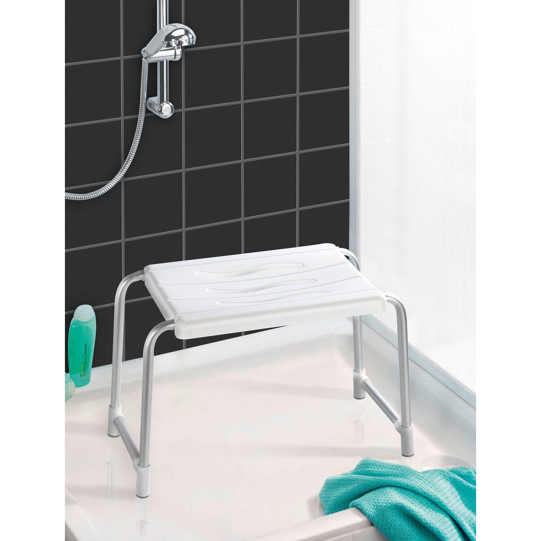 Wenko Dusch- & Wannenhocker Secura Weiß 32 cm x 50 cm x 26 cm kaufen ...