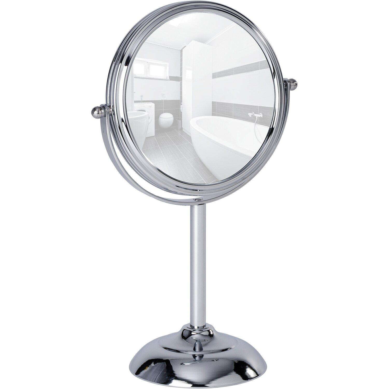 Wenko Kosmetikspiegel Globo Chrom 295 Cm X 185 Cm X 11 Cm
