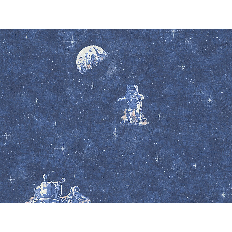 AS Creation A.S. Creation Papiertapete Boys & Girls 5 Astronaut Blau
