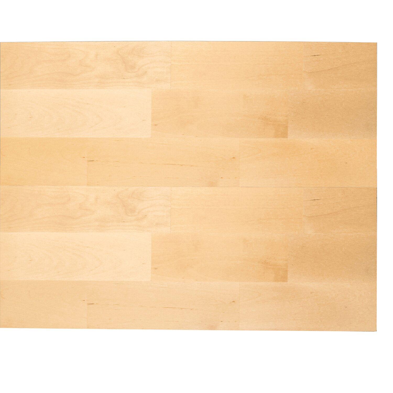 Massivholzplatte 240 Cm X 60 Cm X 2 7 Cm Birke Kaufen Bei Obi