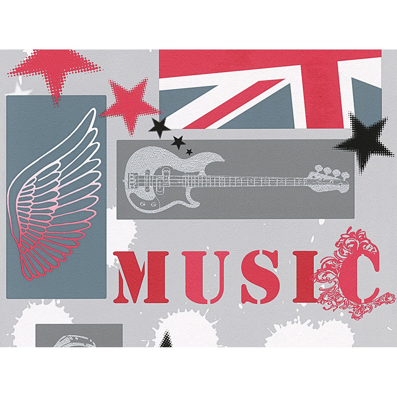 A.S. Creation Papiertapete Boys & Girls 5 Musik...