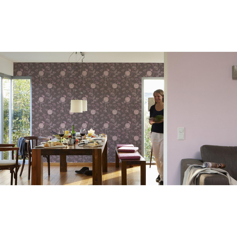 a s creation vliestapete life 3 blumen braun kaufen bei obi. Black Bedroom Furniture Sets. Home Design Ideas