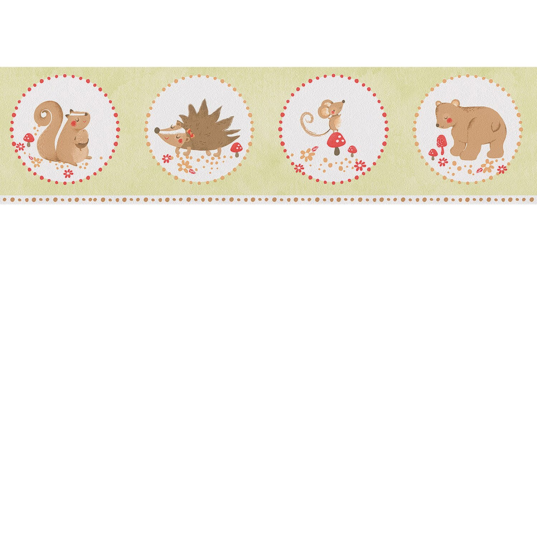 AS Creation A.S. Creation Papierborte Lovely Friends Grafik Grün