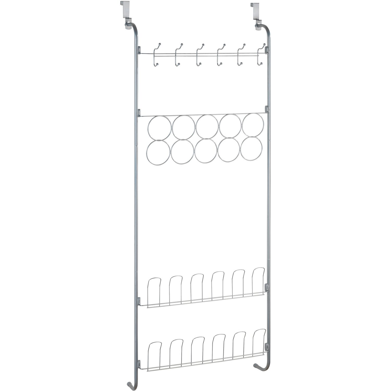 Wenko Tür-Organizer Silber 150,5 cm x 59 cm x 18,5cm