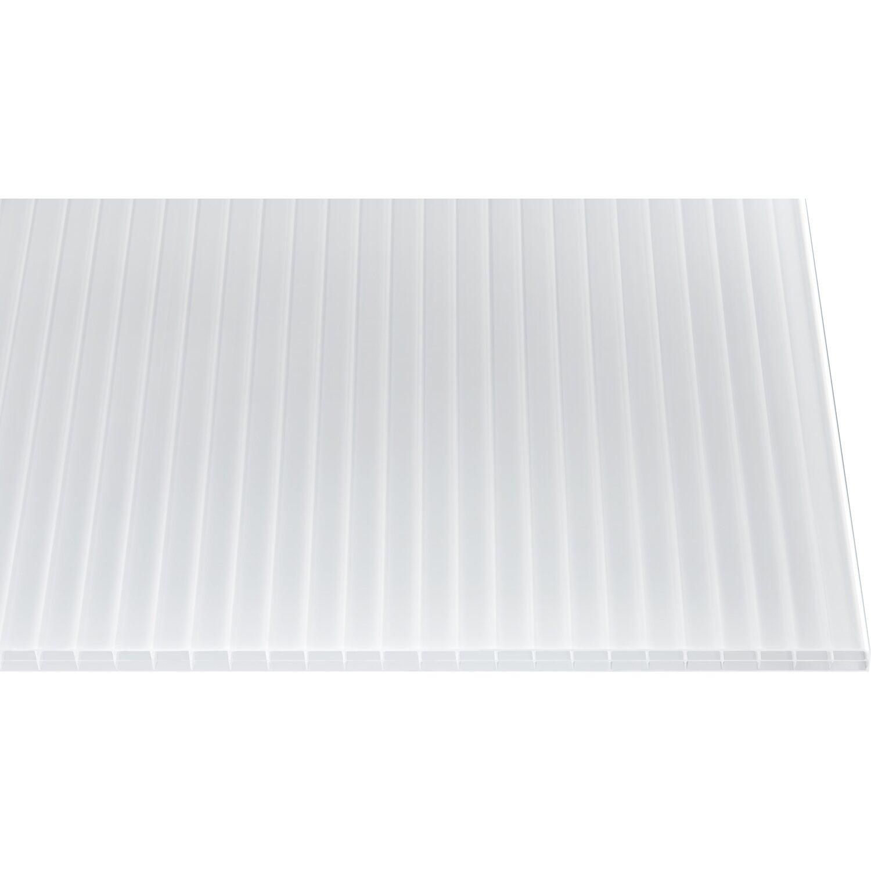 Hohlkammerplatte 16 mm Weiß/Opal 4000 mm x 980 mm Preisvergleich