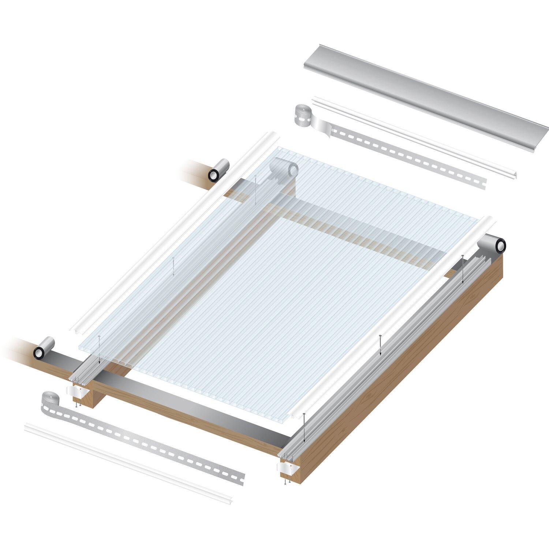 hohlkammerplatte 16 mm wei opal 3000 mm x 980 mm kaufen bei obi. Black Bedroom Furniture Sets. Home Design Ideas