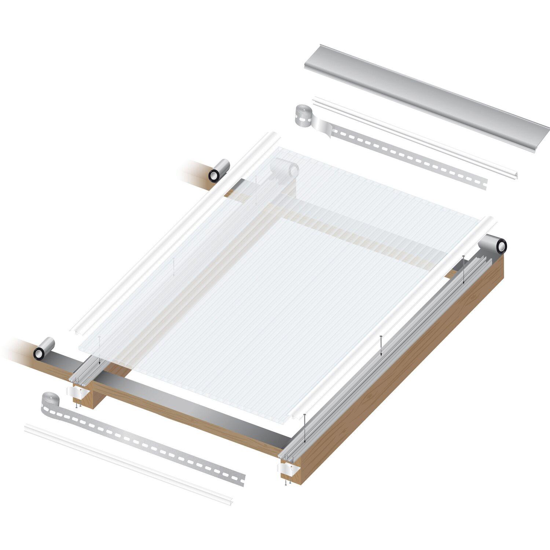 hohlkammerplatte acryl  mm weissopal  mm   mm