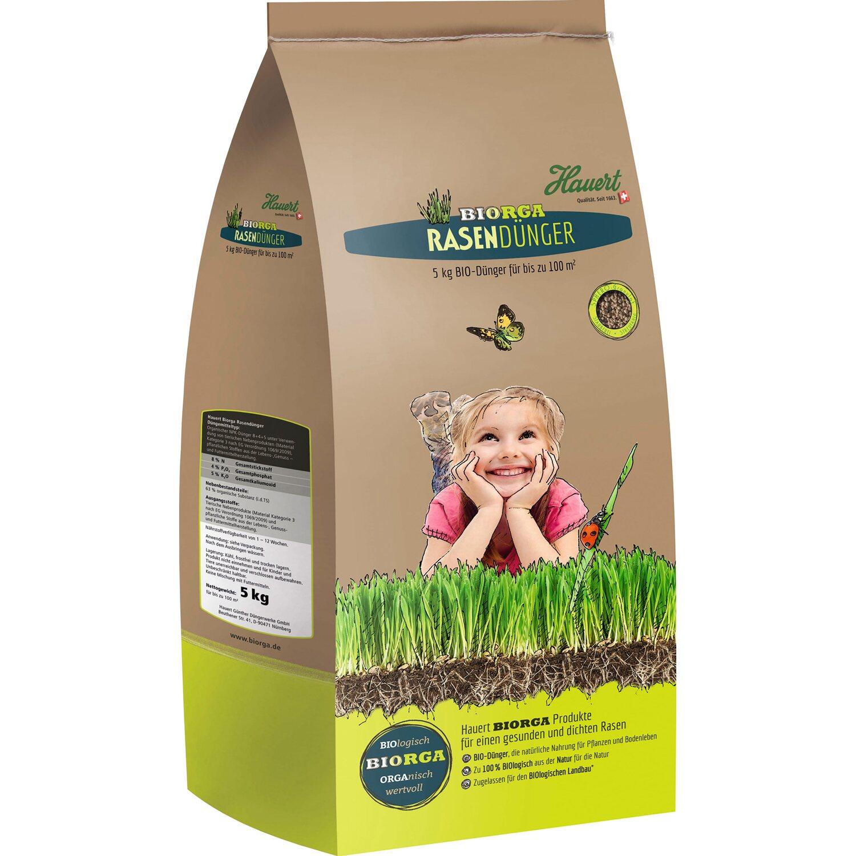 Hauert  Biorga Rasendünger 5 kg